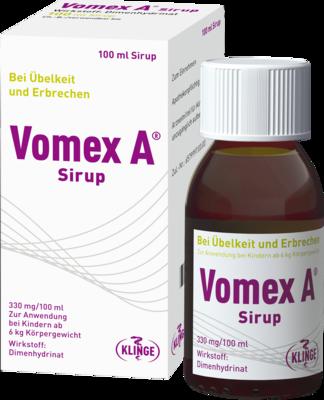 Vomex Zäpfchen Durchfall