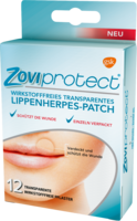 ZOVIPROTECT Lippenherpes-Patch transparent